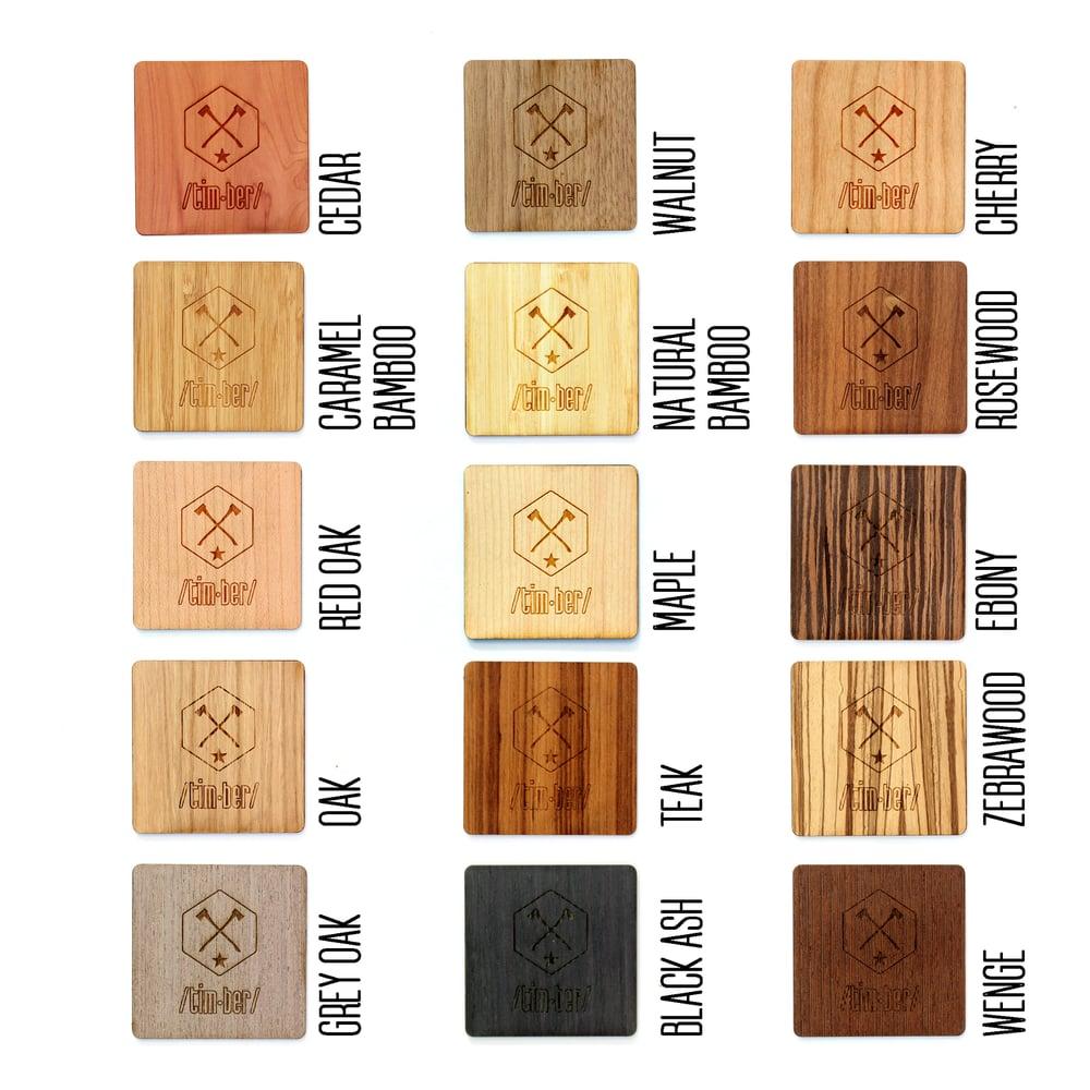 """Image of Large Moleskine TIMBER Wood Skin (5 x 8.25"""")"""