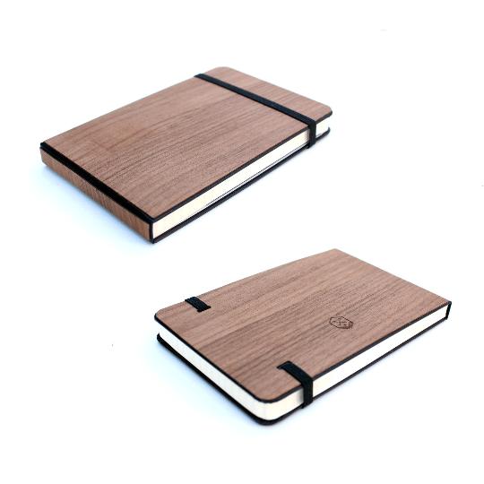 """Image of Extra Large Moleskine TIMBER Wood Skin (7.5"""" x 10"""")"""
