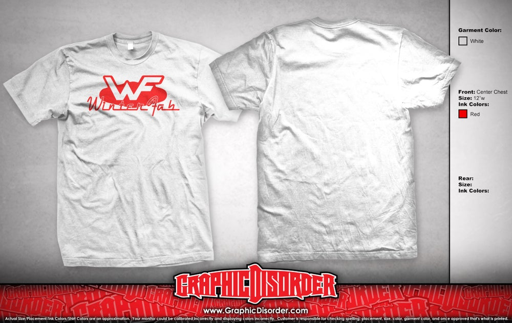 Image of WinterFab T-Shirt - White