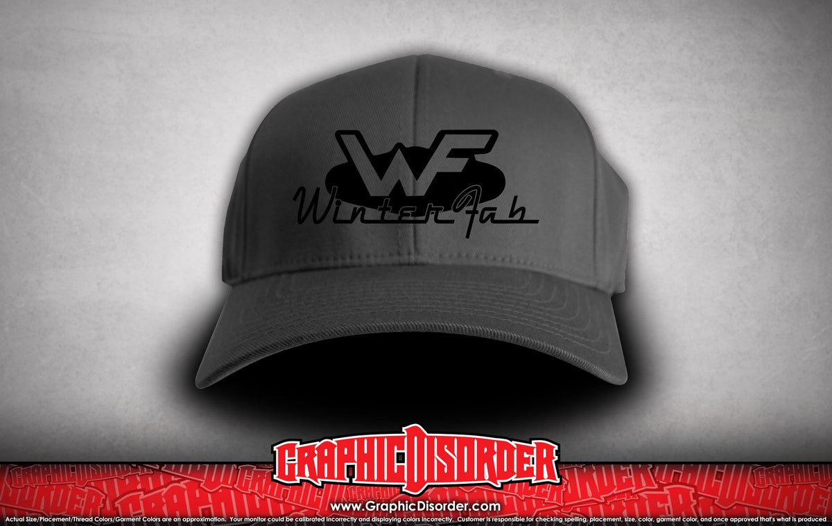 Image of WinterFab FlexFit Hat - Grey