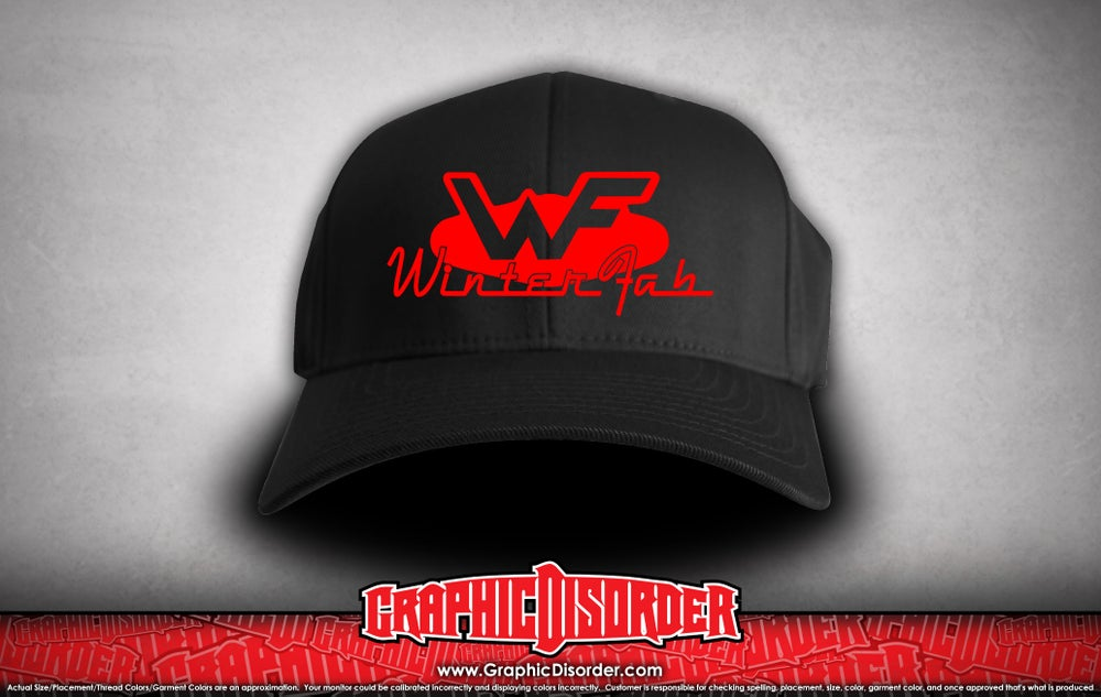 Image of WinterFab Flexfit Hat - Black
