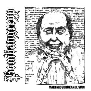 Image of BOMBANGREBB - MAKTMISSBRUKANDE SVIN EP