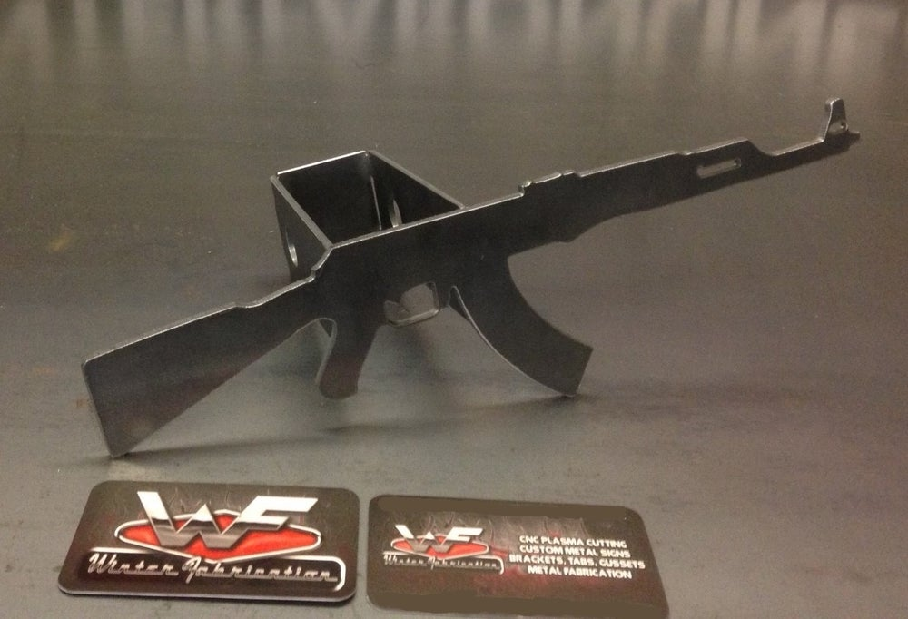 Image of AK47 Hitch Cover