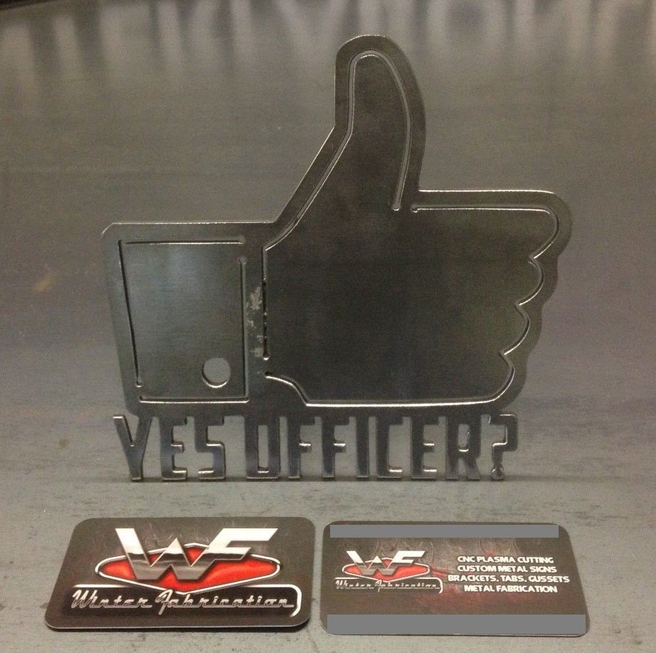 Image of Yes Officer? Hitch Cover