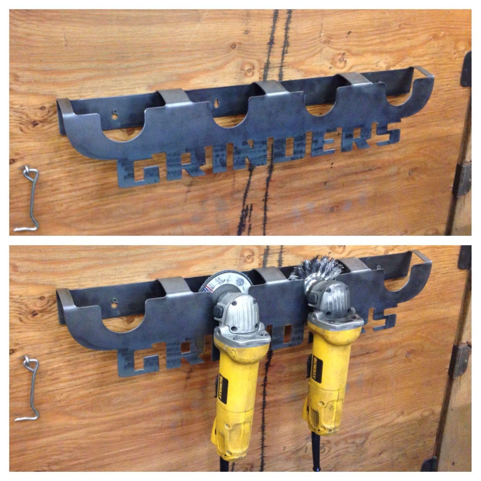 Image of 4 1/2  Angle Grinder Holder - Storage Rack ... & 4 1/2