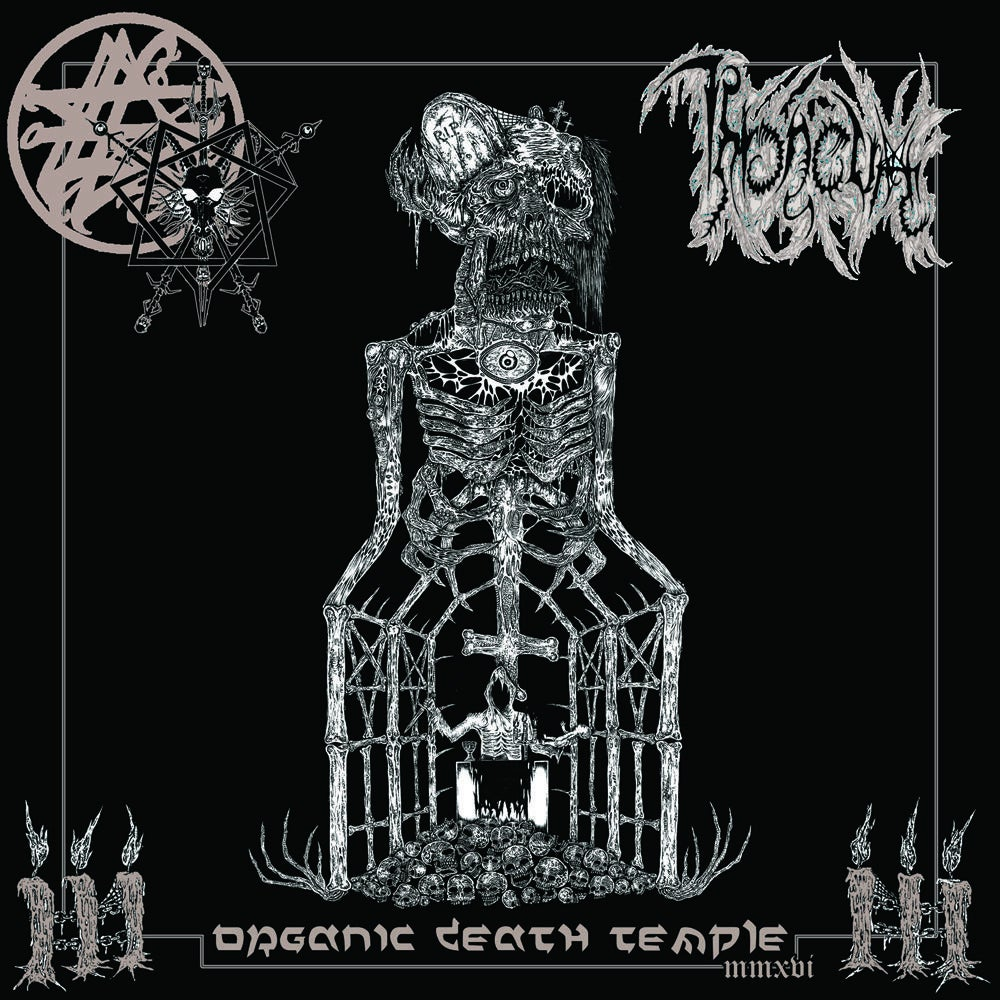 "Image of THRONEUM "" Organic Death Temple MMXVI "" LP"