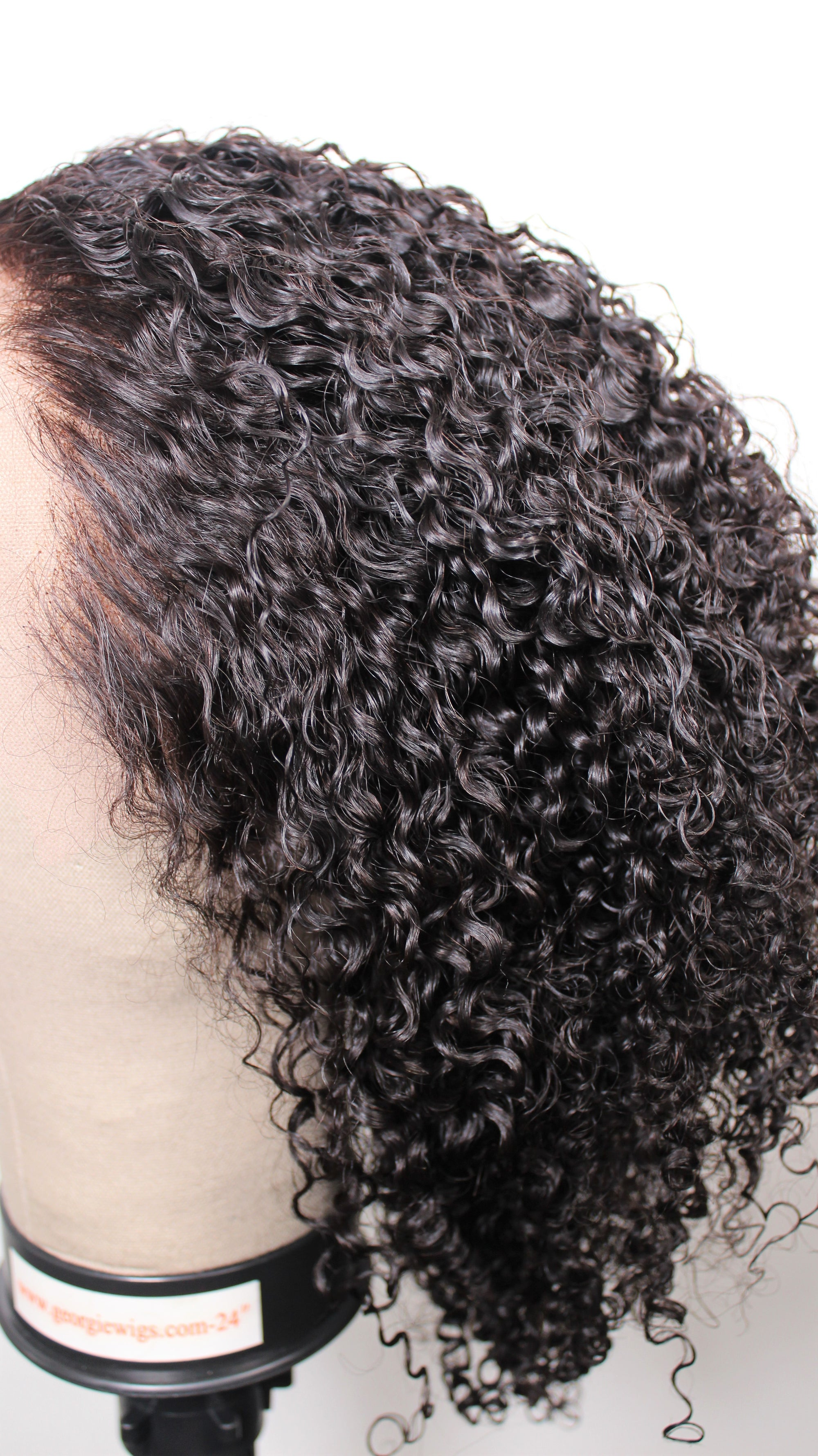 The Beige Collection Dont Touch My Hair Coily Curly Goddess Wig - Free professional invoice template online wig store