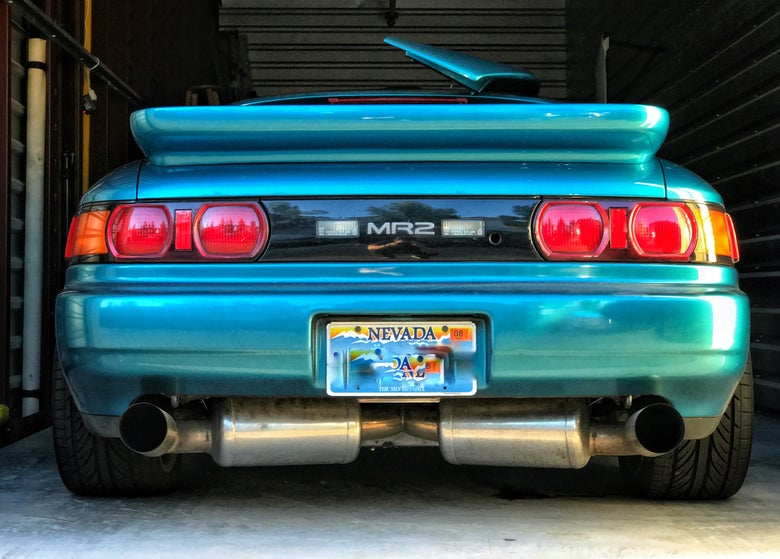Image of 91-99 MR2 MK2 SW20 Kei office rear spoiler