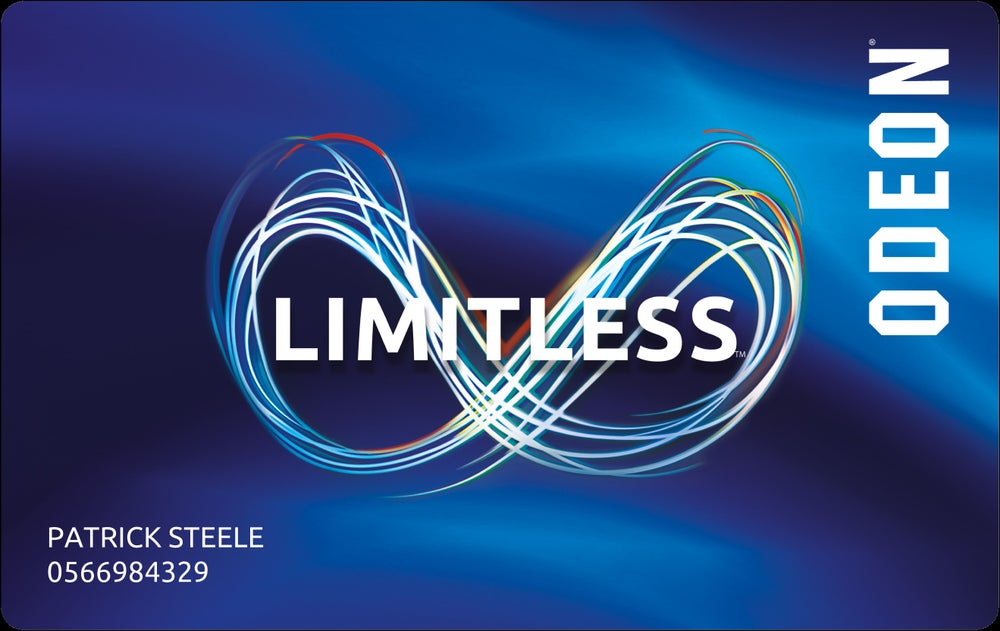 Image of Adult ODEON Cinema Limitless Annual Pass Excluding Central London