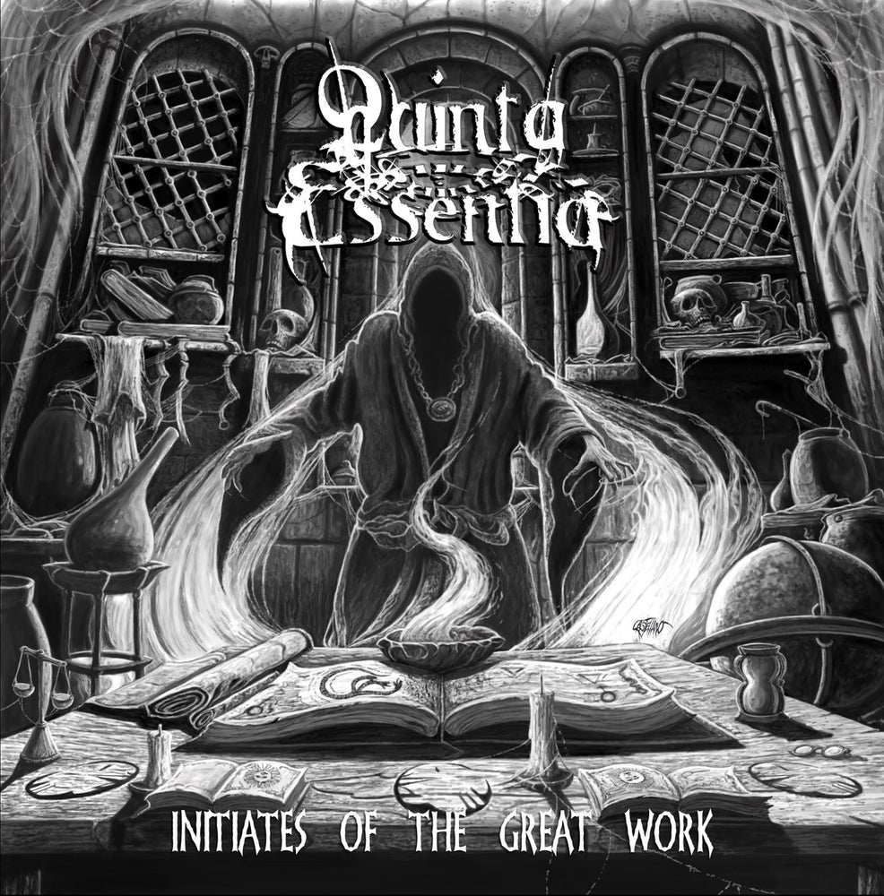 "Image of QUINTA ESSENTIA "" Initiates of the Great Work  "" CD"