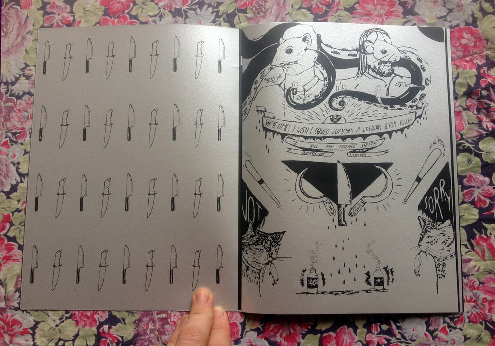 Image of Fit to Burst Zine