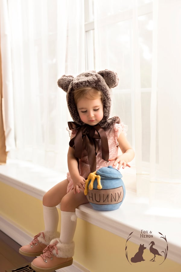 Image of brown bear hat