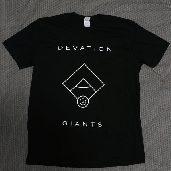 Image of Devation Giants T-Shirt BLACK