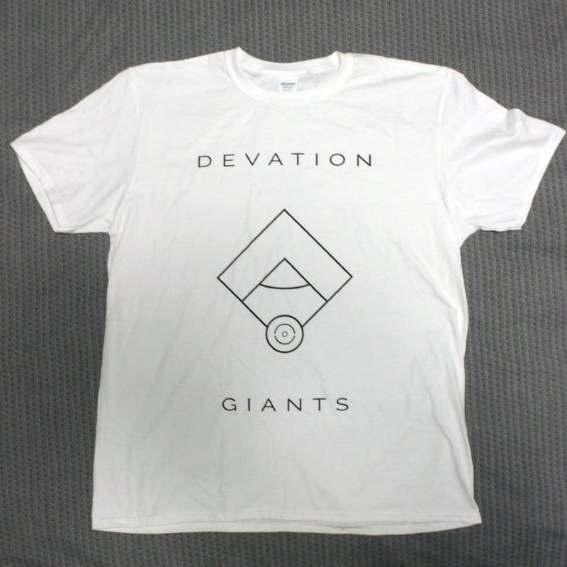 Image of Devation Giants T-Shirt WHITE