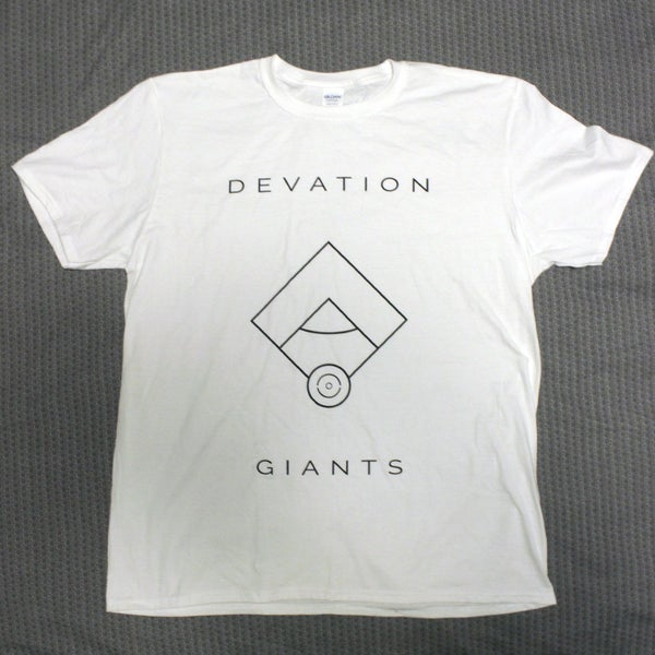 Image of Devation Giants T-Shirt WHITE