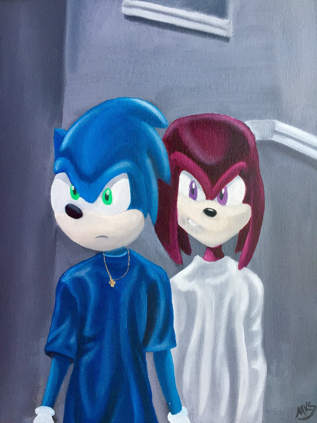 """Image of """"Classic Meets Classic: Menace II Society Meets Sonic and Knuckles"""""""