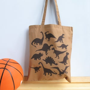 Image of Dinosaur Tote Bag