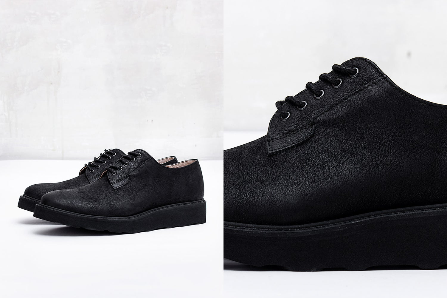 Image of Handmade Shoes | 101 Postman Total Black Edition