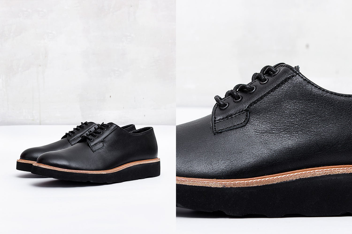 Image of Handmade Shoes | 101 Postman Black Edition