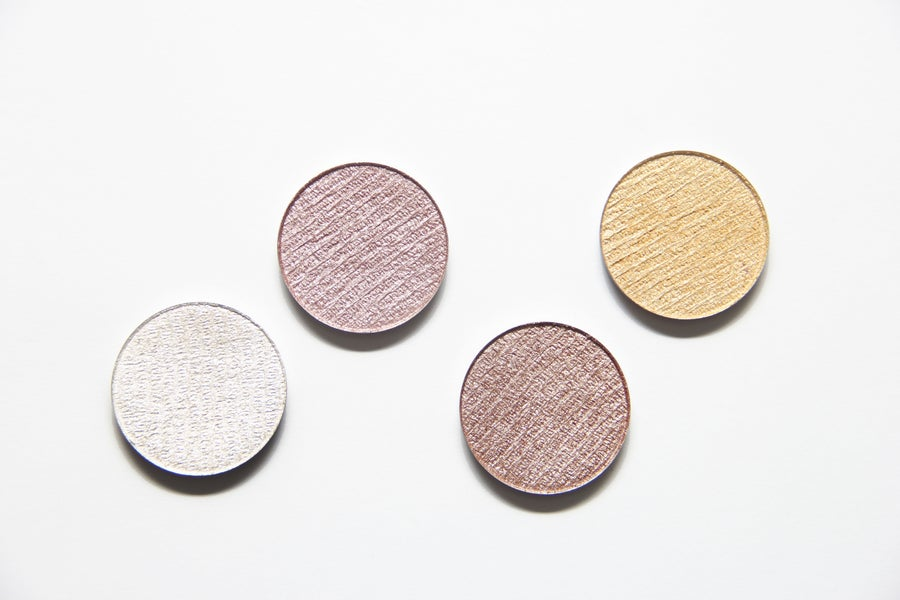 Image of Neutral Glitter Free Pressed Highlighters