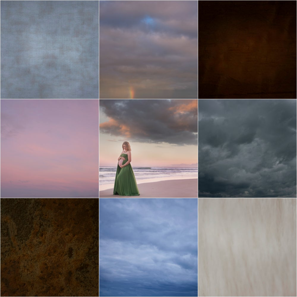 Image of Sky Overlays and Textures Bundle