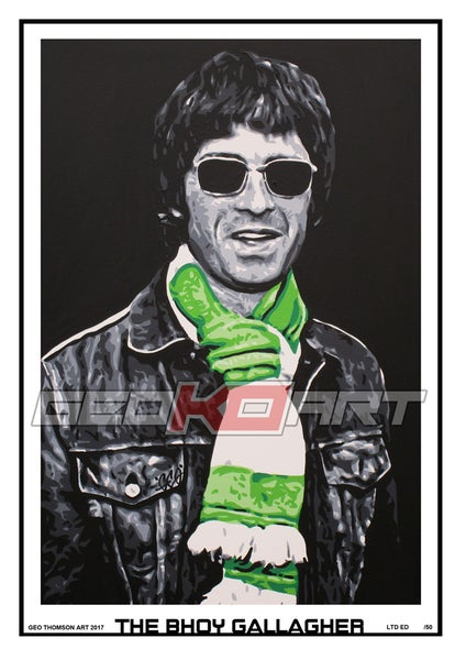 Image of NOEL GALLAGHER - CELTIC SCARF