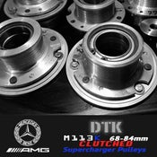 Image of DTK - M113k AMG Supercharger Pulleys (68-84mm) Clutched