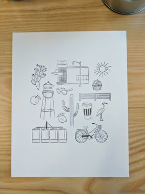 Image of ICONIC GILBERT letterpress