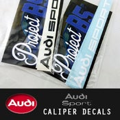 Image of PROJECTB5 - AUDISport Caliper Decals