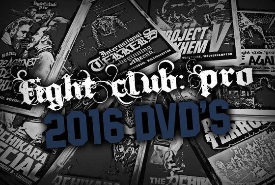 Image of FIGHT CLUB: PRO DVDs 2016