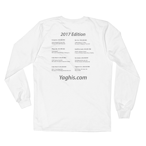 Image of Yaghi's Lightweight Long Sleeve (White)