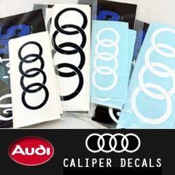 Image of PROJECTB5 - FOUR RINGS Caliper Decals SET