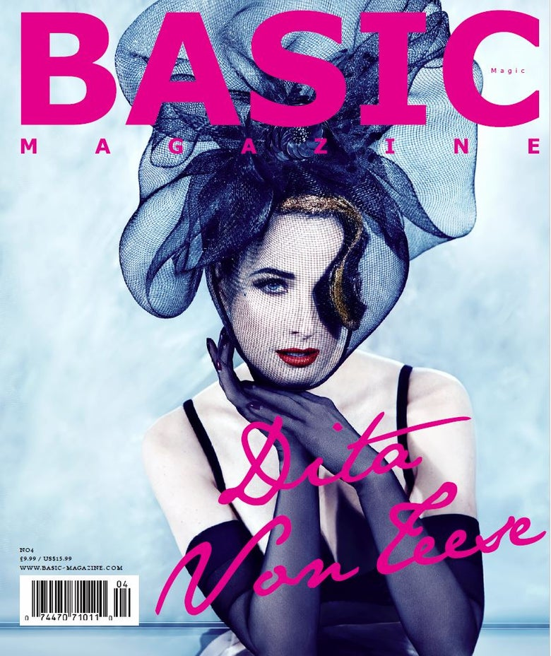 Image of BASIC Magic Issue – Dita Von Teese