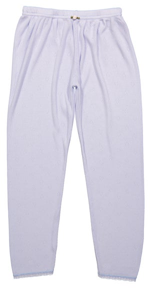 Image of GIRLS HEARTS PANTS White, Blue, Pink