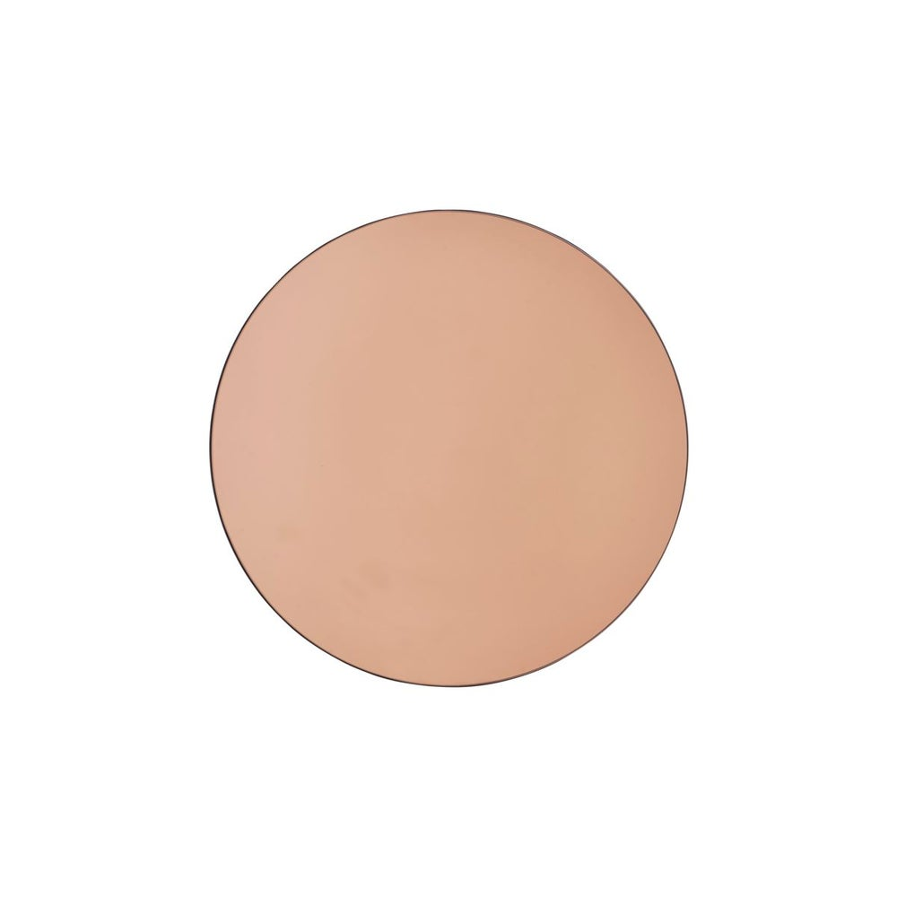 Image of Round mirror in rose gold - 20% off