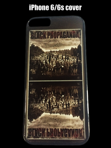"Image of ""Black Propaganda"" iPhone 6/6s cover"