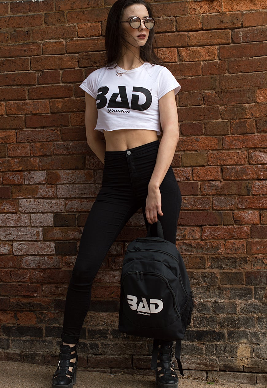 Bad Clothing London Premium Backpack Urban Streetwear and fitness fashion