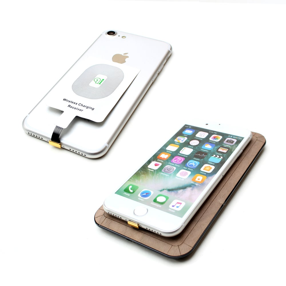 Image of Qi Receiver for iPhone 5 / 5c / 6 / 6 Plus / 6s / 6s Plus