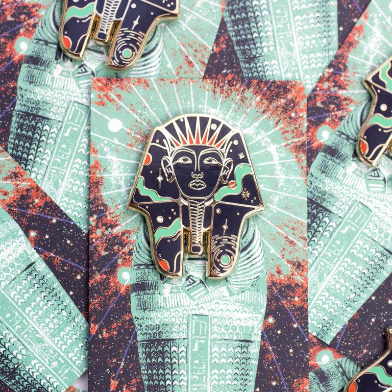 Image of Cosmic Pharaoh Enamel Pin