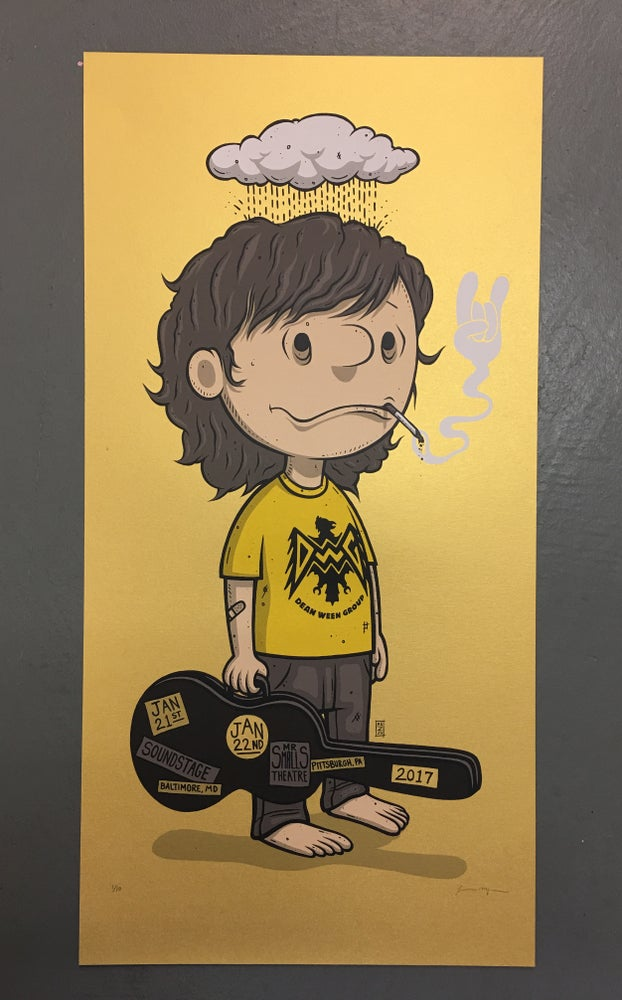 Image of The Dean Ween Group - Baltimore, MD & Pittsburgh, PA - 2017 - Gold Pearlescent Variant