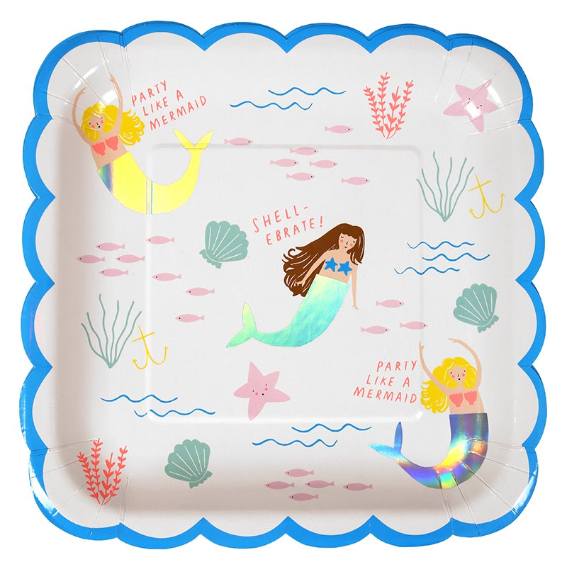 Image of Mermaid Plates - Large