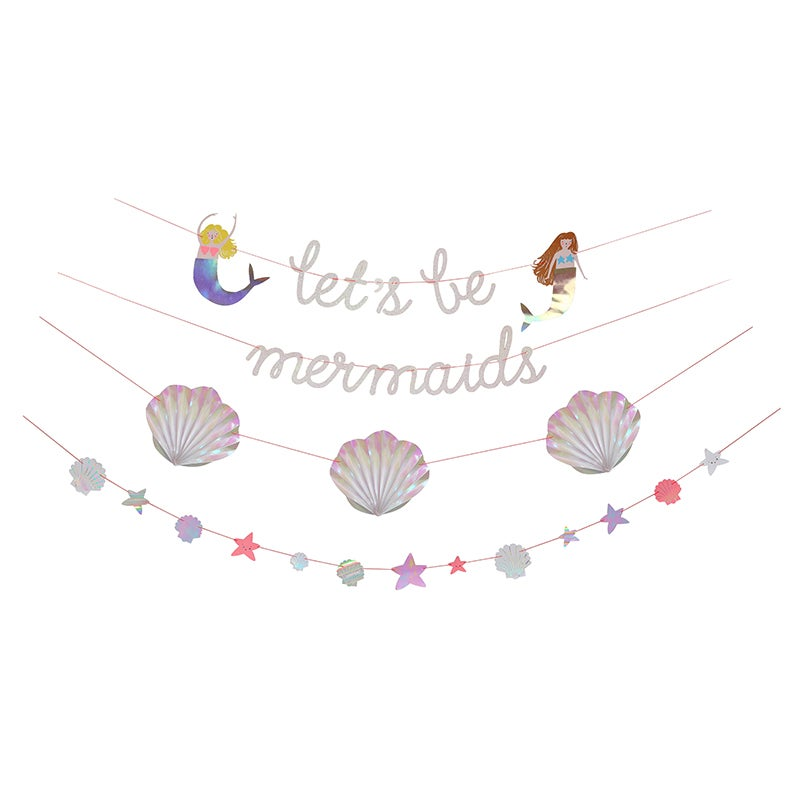 Image of Let's Be Mermaids Garland