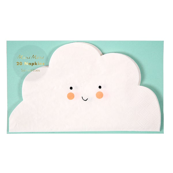 Image of Cloud shaped napkins