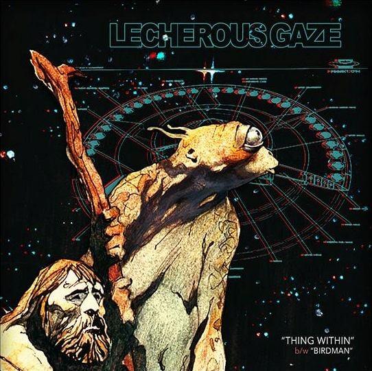 "Image of LECHEROUS GAZE - 'Thing Within' 7"" Vinyl"