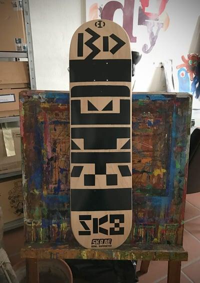 Image of Büro Destruct - BD SK8 Skateboard