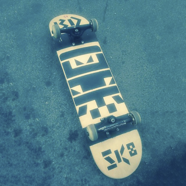 Image of Büro Destruct - BD SK8 Skateboard
