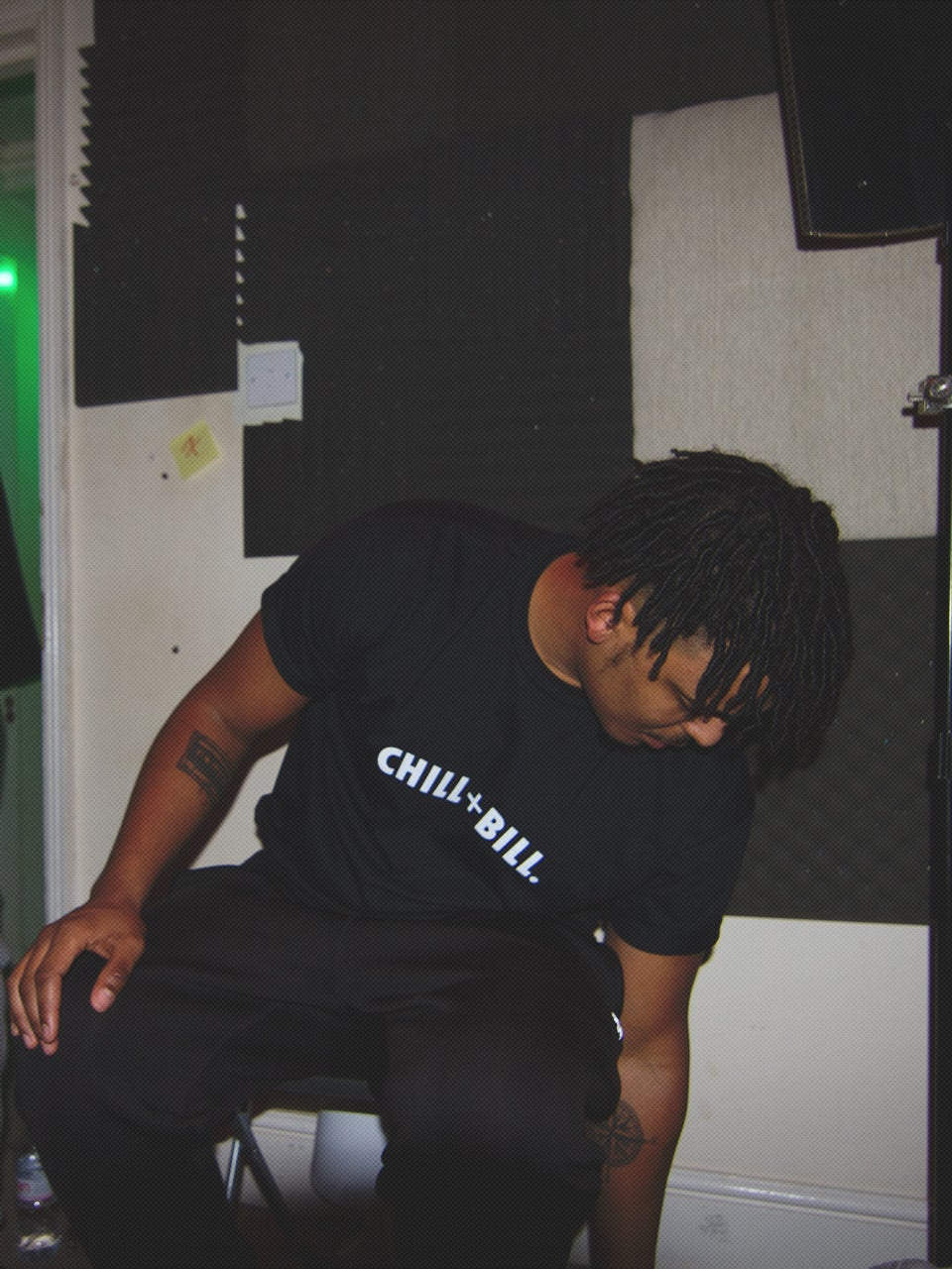 Image of Chill+Bill T-Shirt in Black