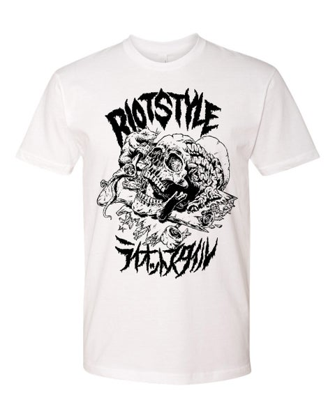 Image of Riot Style vs. Verdy (VK Design) Skate Rat™ T-Shirt