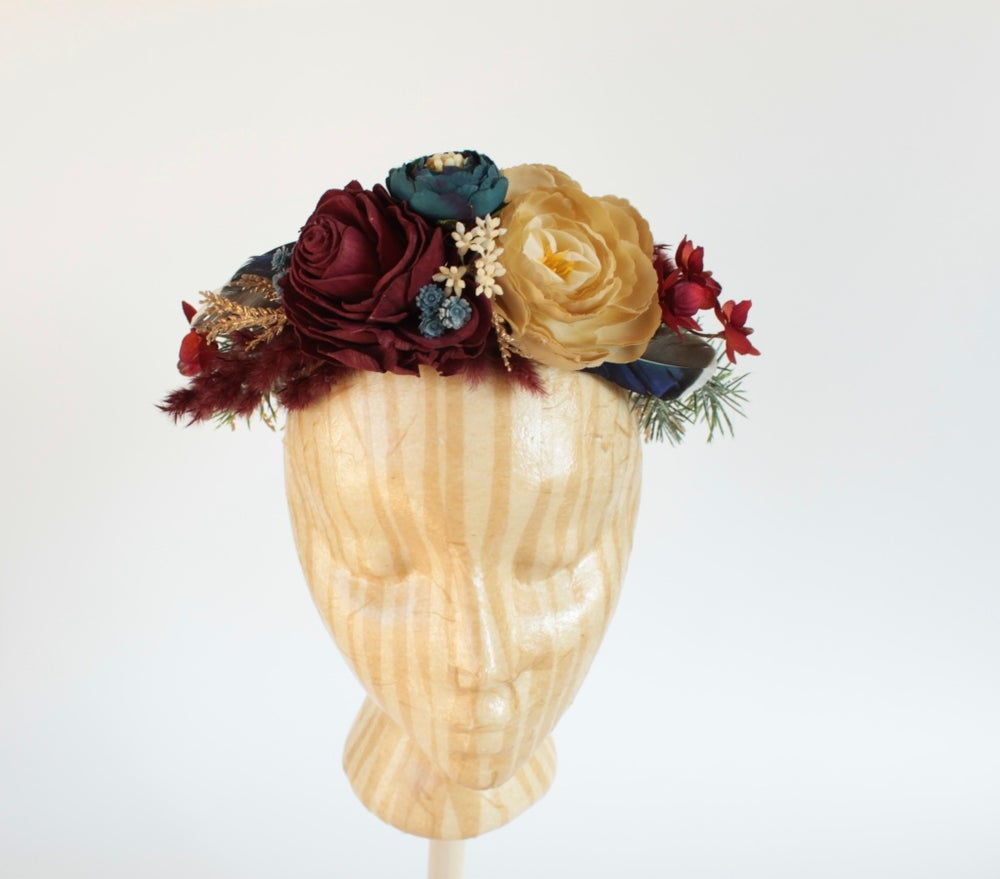 Florals For Angels Custom Full Halo Flower Crown