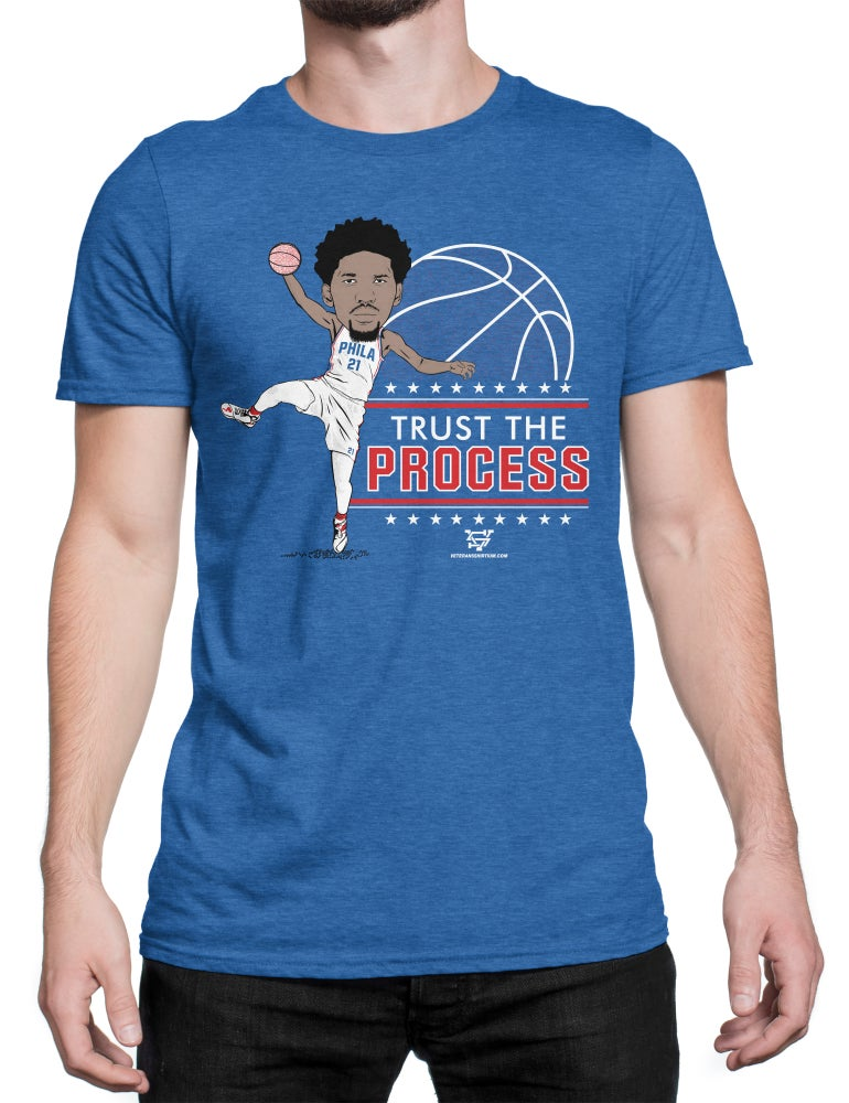 Image of Trust The Process T-Shirt